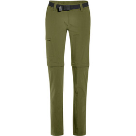 Maier Sports Inara Slim Zip Off Pants Women winter moss